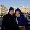 Eugene & Dianne in front of L'Opera