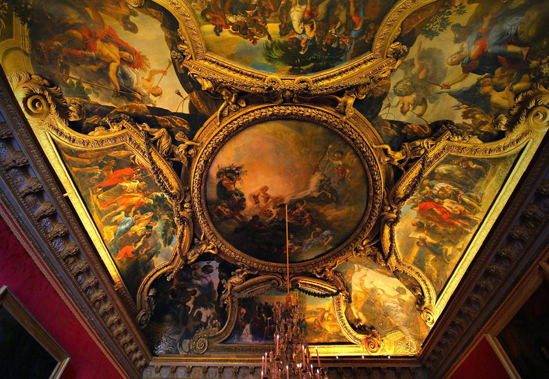 No one really  knows what it cost to build the Palace. King Louis XIV was so ashamed of the expenses that he destroyed the records and receipts. Many lives were also lost in the construction.