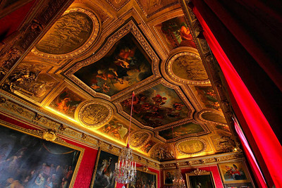 It is hard to imagine the time it took to create all the ceilings and wall detail of the Palace rooms.