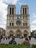 Notre Dame Cathedral during the day...