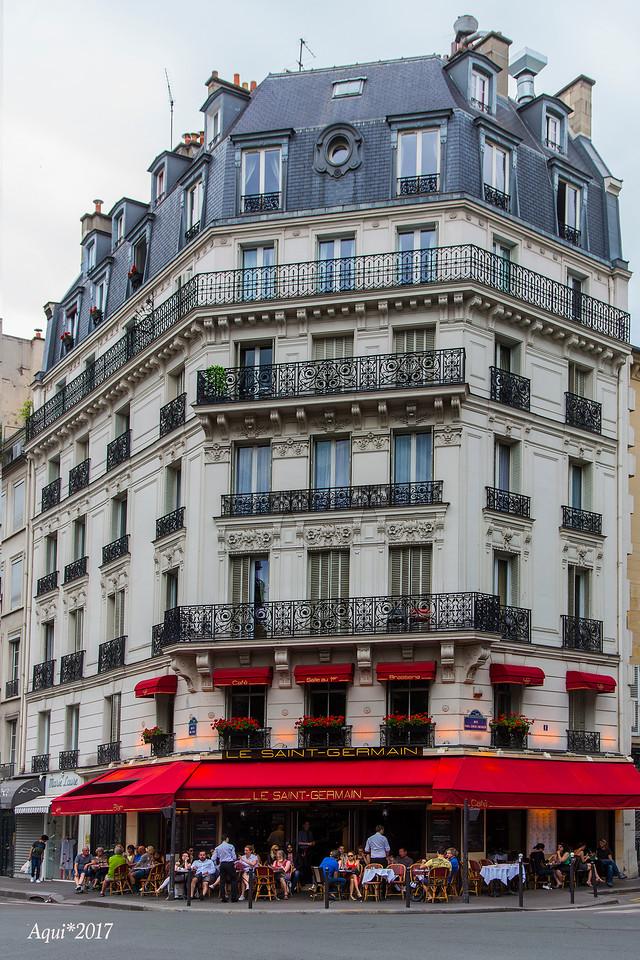 Cafe Life, Paris, France