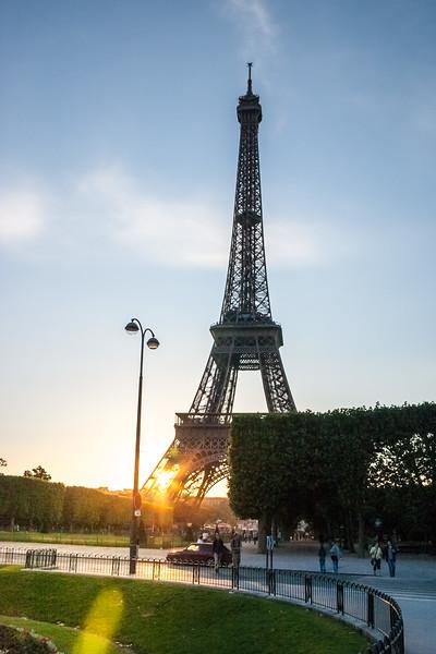 Eiffel tower, Paris, France, 2004