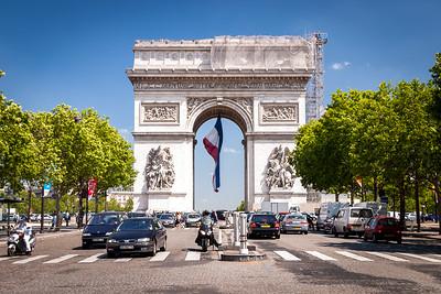Arc de Triomphe, Paris, France, 2004