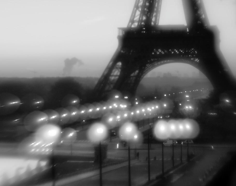 Eiffel Tower by Lensbaby