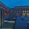 Buren's columns in the Palais Royal