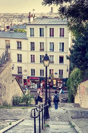 Montmartre, Paris, 2004