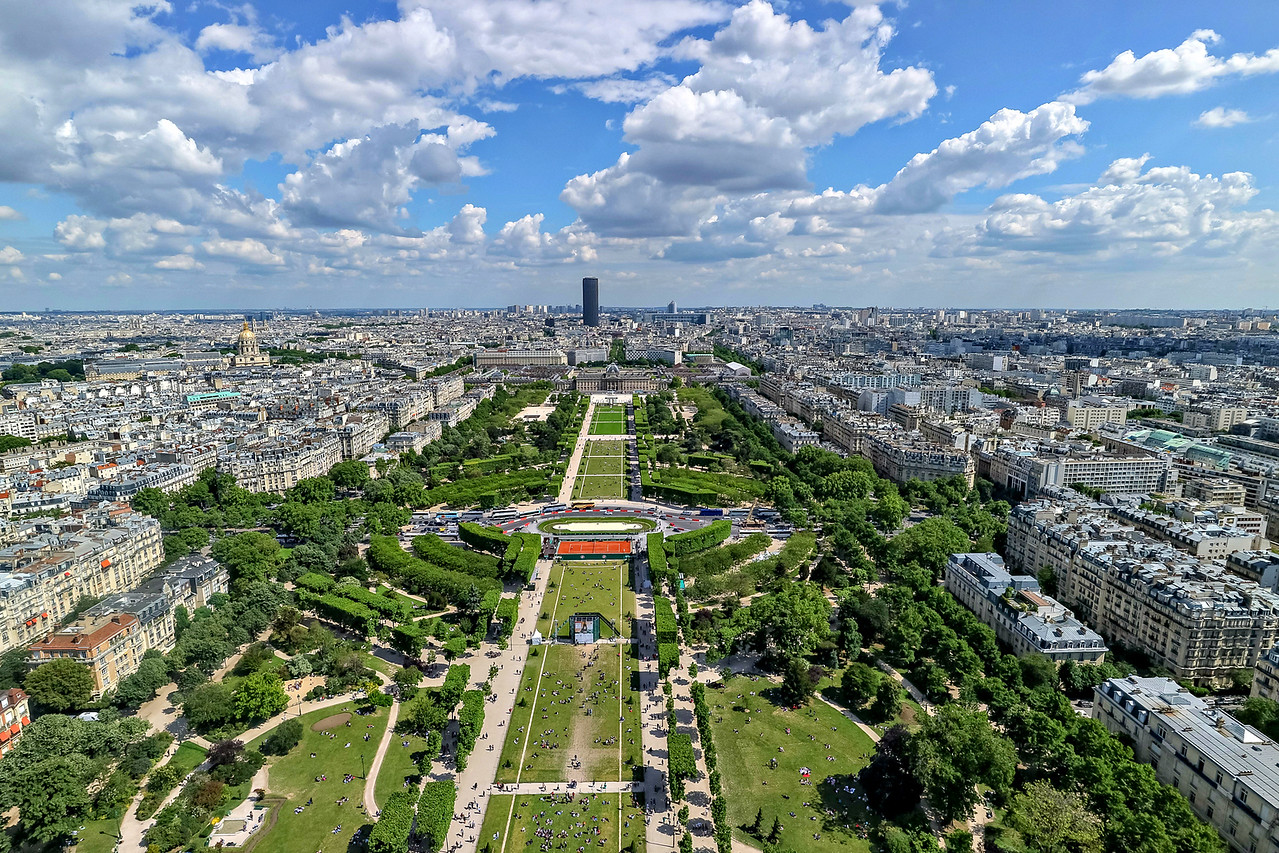 Montparnasse viewed from the Eiffel Tower
