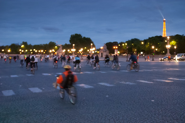 Night ride, Paris, France, 2004