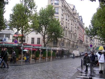 MINOLTA  Love this street in Paris on the West Bank.