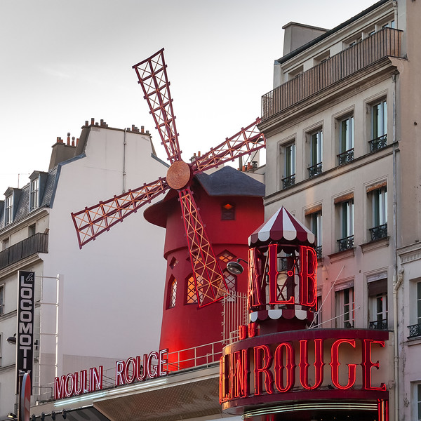 Moulin Rouge, Montmartre, Paris, France, 2004
