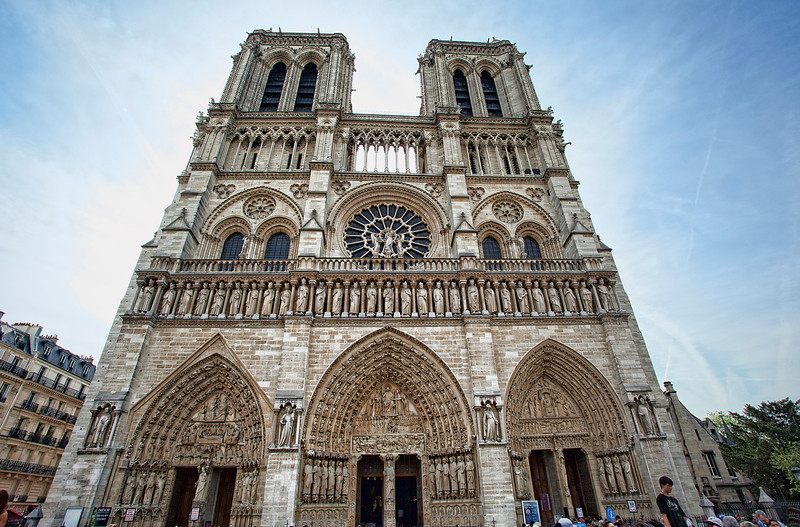 West Façade - Notre Dame Cathedral (Cathédrale Notre-Dame de Paris)