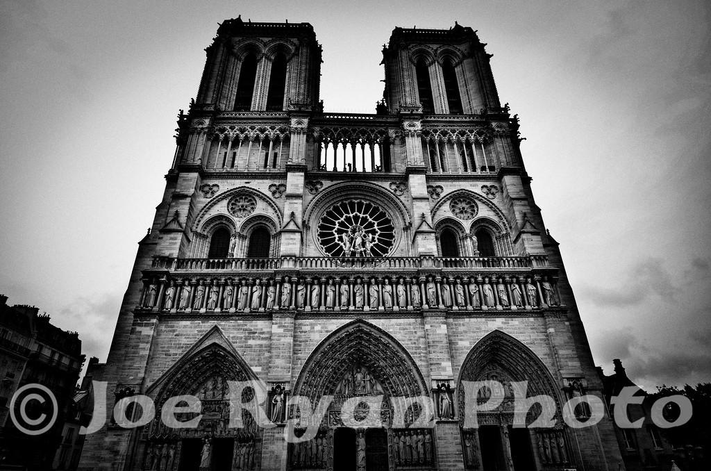 Notre Dame de Paris<br /> 6 Parvis Notre-Dame, Place Jean-Paul II<br /> Paris, France