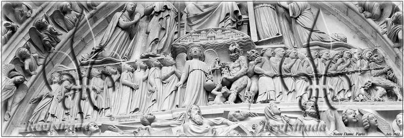 Notre Dame frieze pano
