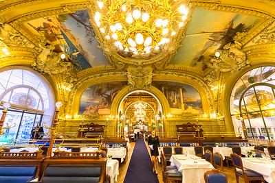 Restaurant Le Train Bleu, Paris, France, 2018