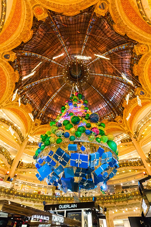 Galeries Lafayette, Paris, France, 2018