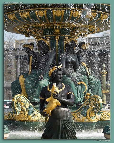 Fountain- Place de la Concorde