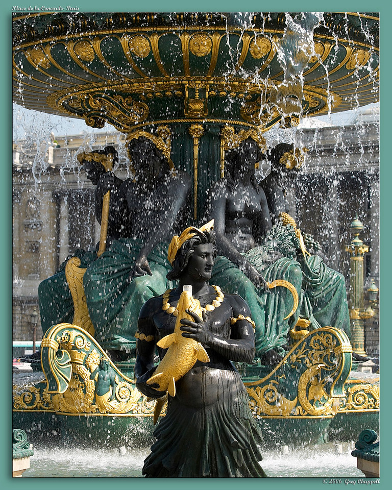 Fountain- Place de la Concorde
