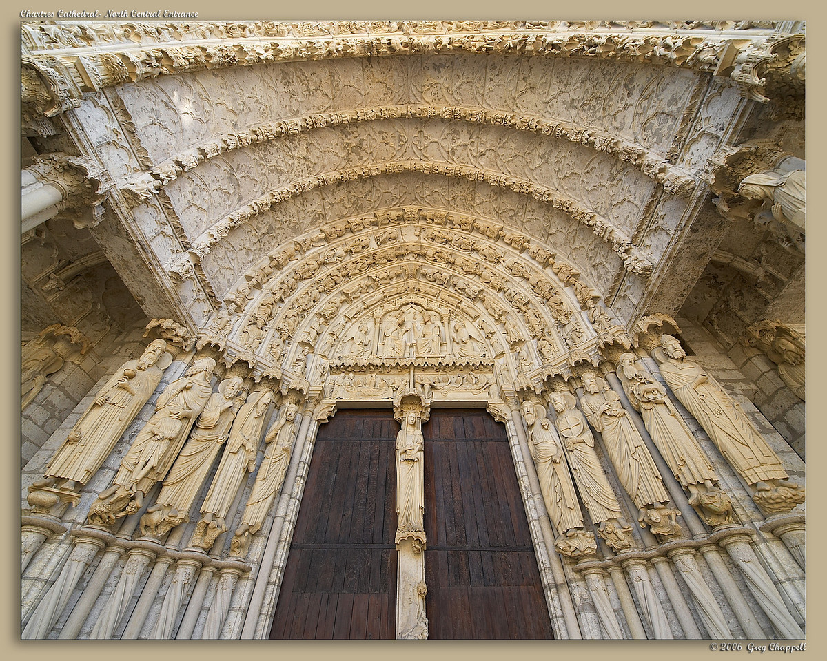 Chartres Cathedral- North Entrance