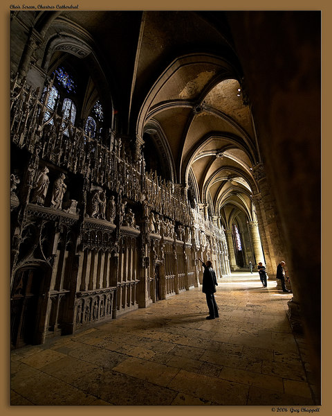 Chartres Cathedral- Choir Screen