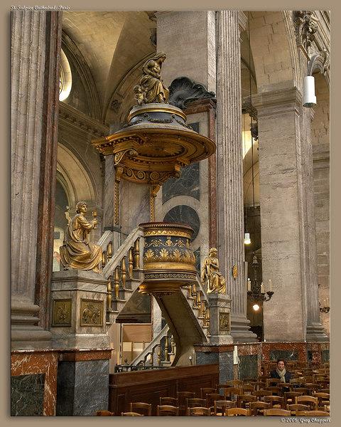 Pulpit- St. Sulpice