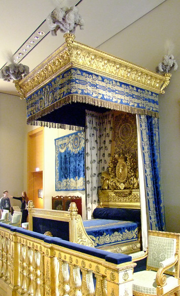 Napoleon's bed chamber.