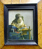 A painting by Jim and Jan's favorite Dutch Master painter Vermeer.