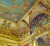 Ceiling artwork in Napoleon's Apartment.