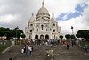 Sacre Coeur from the front, more or less.
