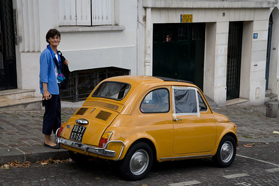 D and another tiny car.