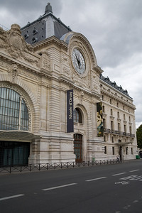 My favorite museum in Paris, Musee d'Orsay.  Lots of impressionists (e.g. Monet, Manet, Degas, Renoir).