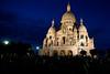 Sacre Coeur at night. Duh.