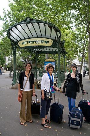 Paris, Milan and Florence, Aug08