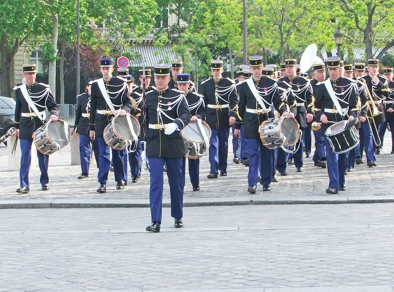 The band that played at the ceremony.