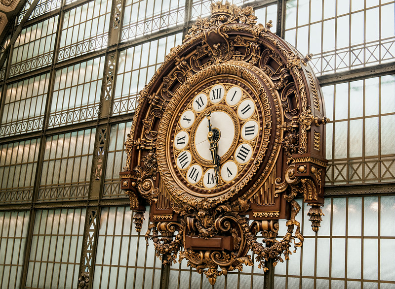 The Musee d'Orsay Clock