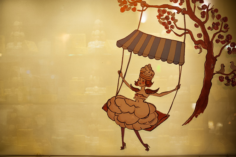 Parisian Bakery Window
