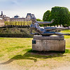 Aristide Maillo's 1943 Statue 'Air' in the Jardin Des Tuileries