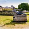 Aristide Maillo's 1943 Statue 'Air' in the Jardin Des Tuileries