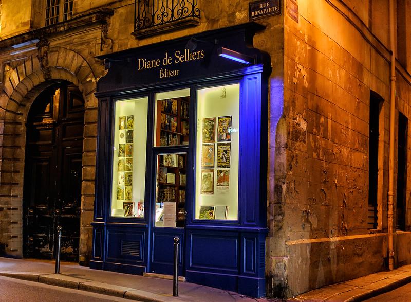 Parisian Nighttime Strolls
