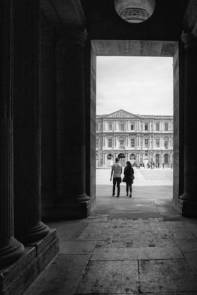 A Visit to the Louvre in Paris