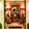Entrance to the gorgeous boutique Hotel de l'Abbaye, Paris, France