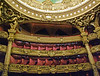 Seating within the Opera Garnier.