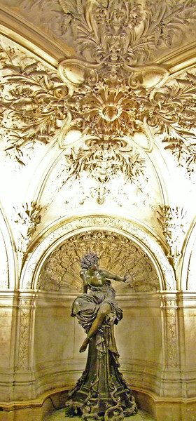Amazing sculptures and art throughout the Opera Garnier.