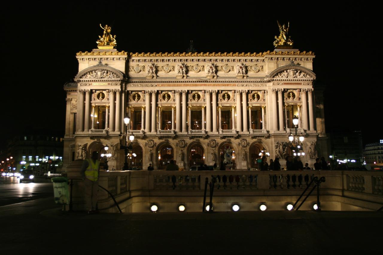 177 Paris at Night Opera House 1