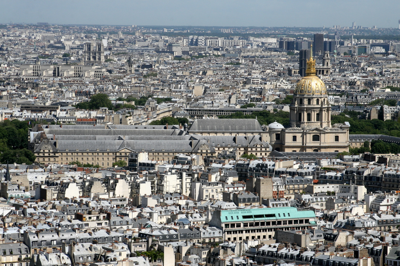 156 Eiffel Tower View of Hotel des Invalides 2