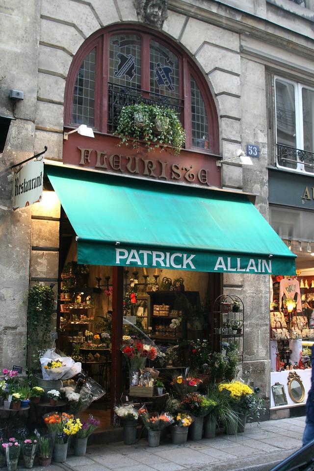 153 Shops of Paris 7 Patrick Allan Flower Shop