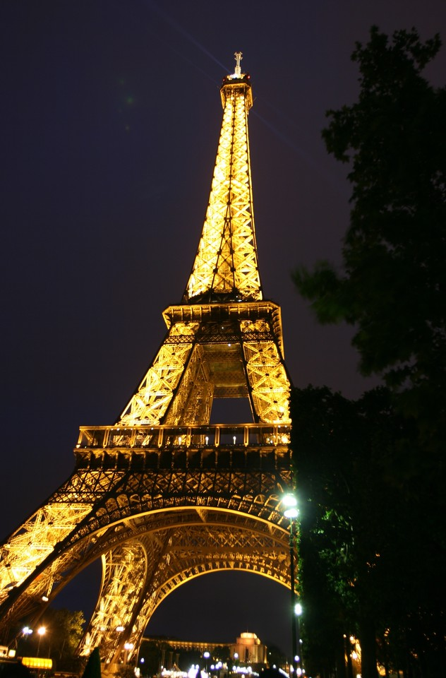 175 Paris at Night Eiffel Tower 2
