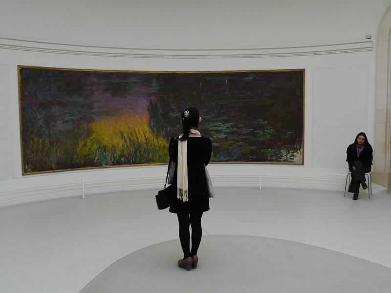 At Musee de L'Orangerie.