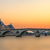Pont Royal on the river Seine