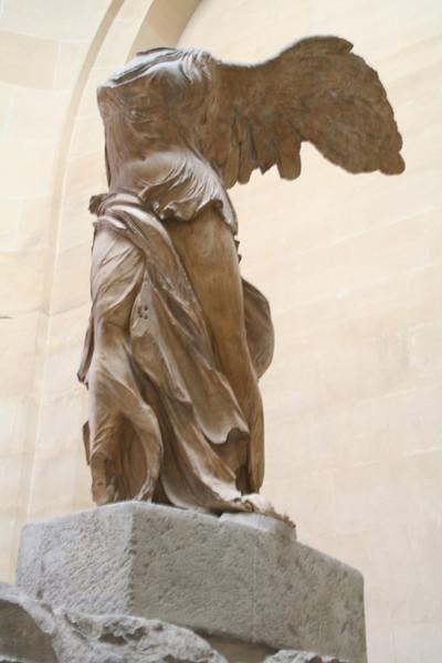 Winged Victory of Samothrace.