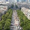 Towards La Defense--Paris' high rise district.
